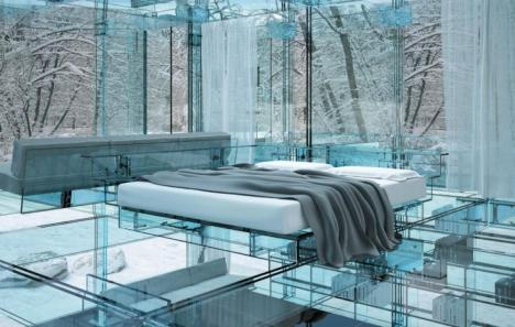 21-futuristic-bedroom-design-with-glass-floor-in-glass-ceiling-walls