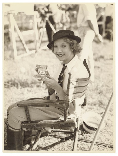 Helen Twelvetrees during the making of Thoroughbred, Sydney, 1936