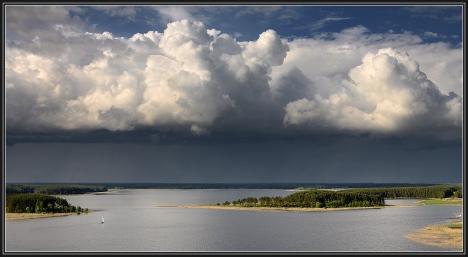 nuvole paesaggio