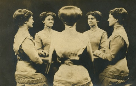 Vintage Mirror Portraits in the late 19th to early 20th Centuries (2)