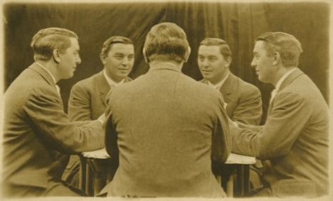 Vintage Mirror Portraits in the late 19th to early 20th Centuries (4)