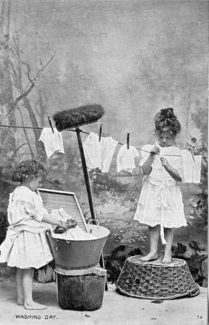 Vintage Photos of Children Working at Home (4).jpg