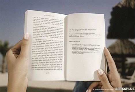 pubblicità lettura