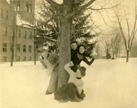 Normal School Campus, Pennsylvania, ca. 1900s.