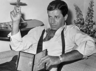 "HOLLYWOOD, FL - FEBRUARY 3: Picture taken during the 60s of US comedian, director and singer Jerry Lewis. Born in 1926, Jerry Lewis appeared in about fifty films in the 50s and 60s such as ""My friend Irma"" with Dean Martin and directed different films such as ""the Nutty Professor"". In the 70s he mainly acted in TV shows and the theater. (Photo credit should read STF/AFP/Getty Images)"